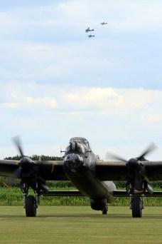 © Jamie Ewan • Avro Lancaster NX611 'Just Jane' • East Kirkby Airshow