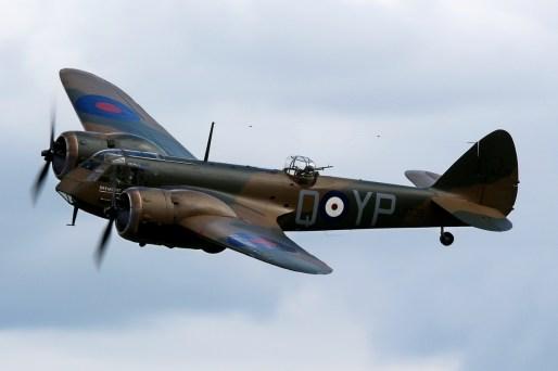 © Jamie Ewan • Bristol Blenheim MkI G-BPIV • East Kirkby Airshow