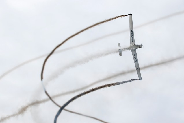 © Adam Duffield • Aerosparx Grob 109s • Seething Charity Air Day 2015