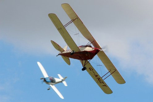 © Jamie Ewan • Thruxton Jackaroo G-ANZT • East Kirkby Airshow