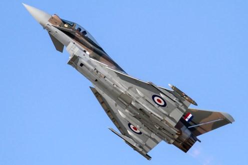 © Ben Montgomery • Eurofighter Typhoon FGR4 ZK349 • RAF Special Paint Schemes 2015
