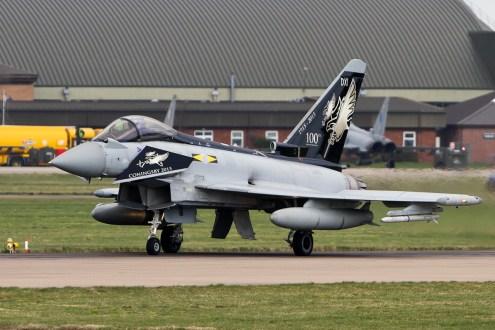 © Craig Sluman • Eurofighter Typhoon FGR4 ZJ925 • RAF Special Paint Schemes 2015