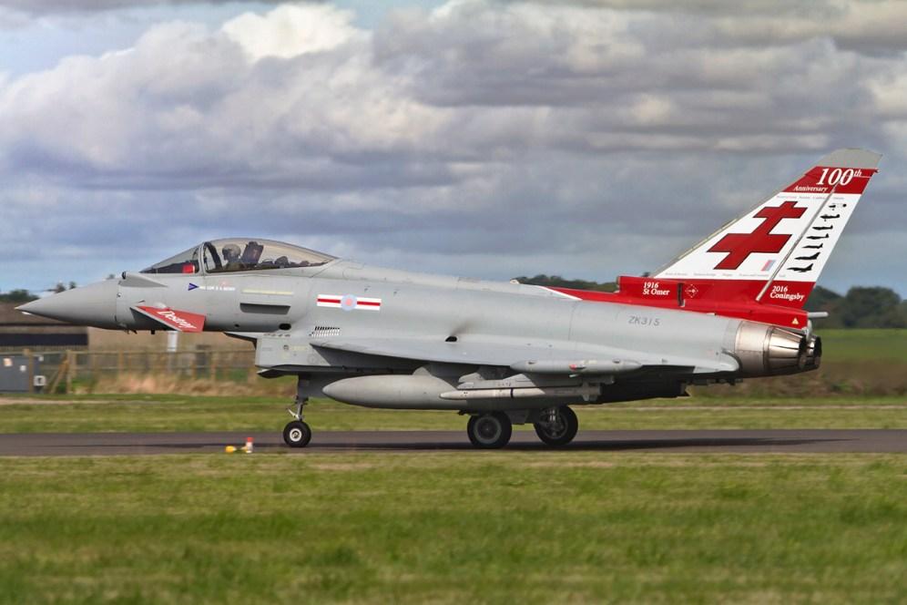© Craig Sluman • Typhoon FGR.4 ZK315 • RAF Special Paint Schemes 2015