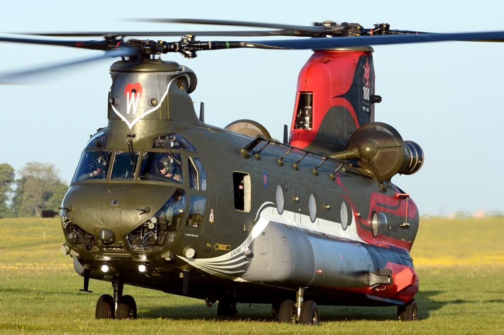 © Mark Empson • Boeing Chinook HC4 ZA712 • RAF Special Paint Schemes 2015