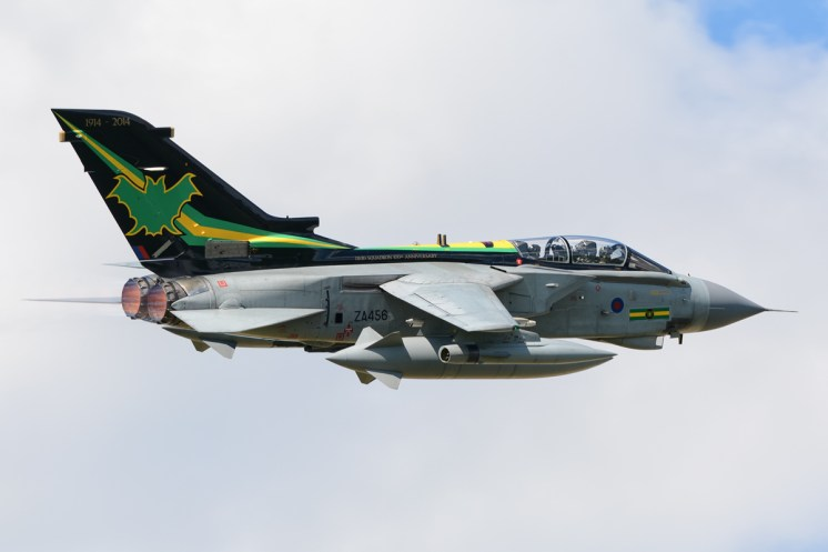 © Mark Ranger • Panavia Tornado GR.4 ZA456 • RAF Special Paint Schemes 2015