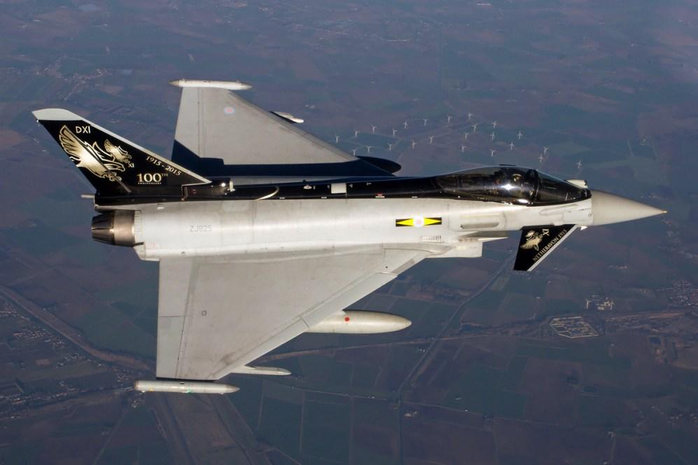 © Paul Heasman • Eurofighter Typhoon FGR4 ZJ925 • RAF Special Paint Schemes 2015
