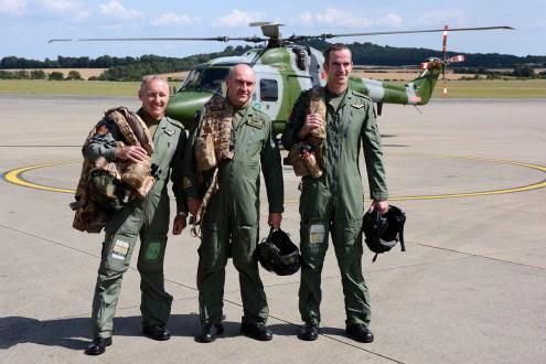 © Mark Empson • Westland Lynx AH.7 Last Crews • AAC Lynx AH.7 Retirement