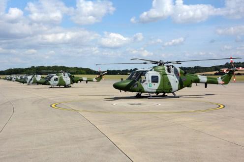 © Mark Empson • Westland Lynx AH.7 Lineup • AAC Lynx AH.7 Retirement