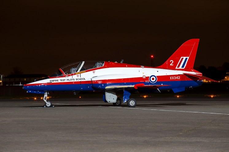© Adam Duffield - BAe Hawk T1 XX342 - Northolt Nightshoot XIX