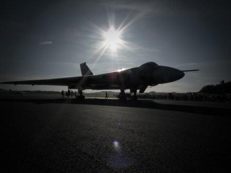 © Chris Clarke - RAF Leuchars in 2009 - Vulcan XH558 Image Wall