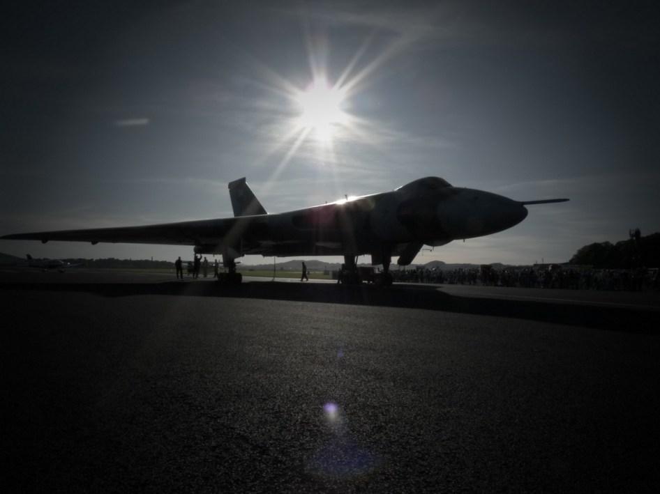 © Chris Clarke - RAF Leuchars in 2009 - Vulcan XH558 Image Wall