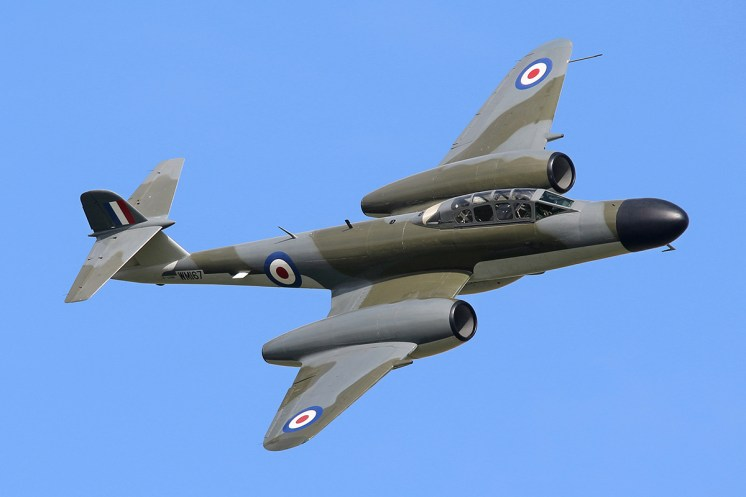 © Jamie Ewan - Gloster Meteor (AW) NF.11 - The Yorkshire Air Show 2015