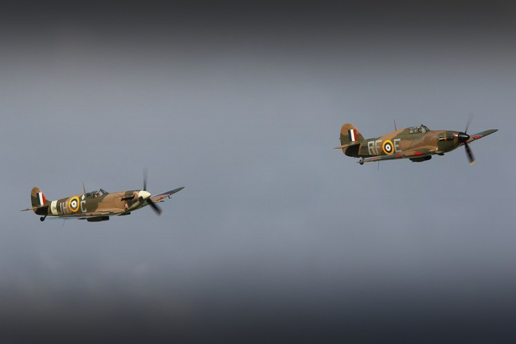 © Jamie Ewan - Hawker Hurricane Mk XIIa - The Yorkshire Air Show 2015