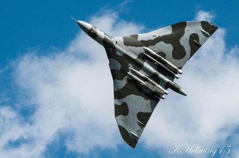 © Kristian Hellwing - Newark air musuem June 2015 - Vulcan XH558 Image Wall