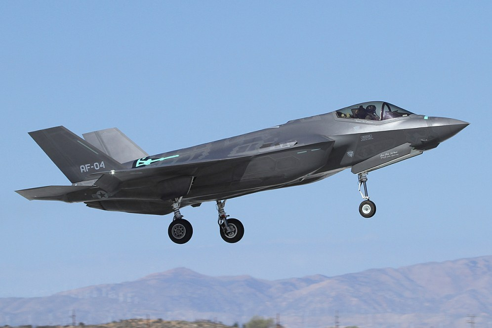 © Mark Forest • Lockheed Martin F-35A Lightning II • F-35 Joint Strike Fighter Part 2