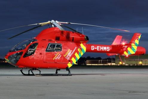 © Mark Kwiatkowski - London Air Ambulance G-EHMS MD-902 Explorer - Northolt Nightshoot XIX