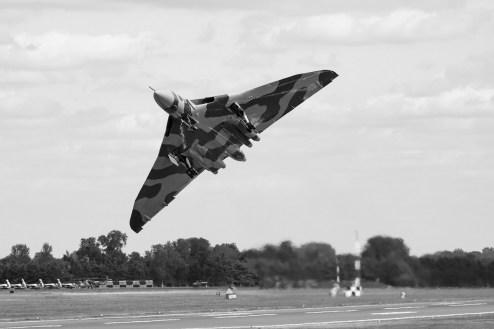 © Steve Tron - RIAT 2015 - Vulcan XH558 Image Wall