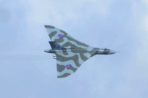 © Andy Hood - XH558 over Brough Airfield, East Yorks on the 10th of October - Vulcan XH558 Image Wall