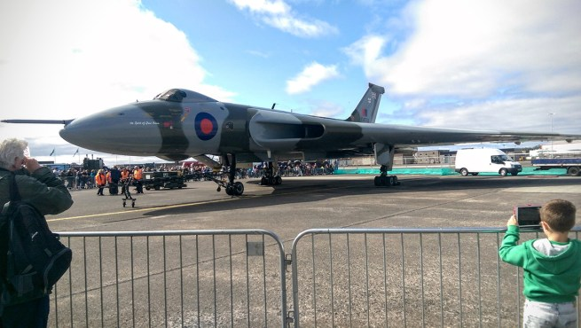 © Daniel Milburn - Static display at the Scottish Air show - Vulcan XH558 Image Wall
