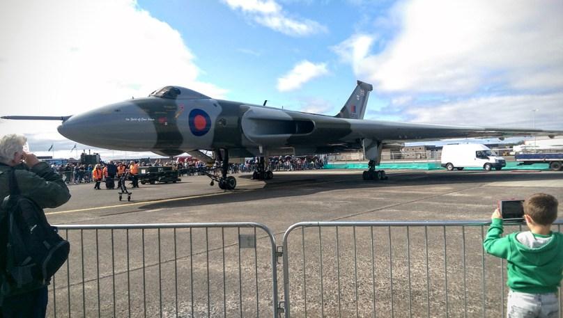 © Daniel Milburn - Static display at the Scottish Air show - Vulcan XH558 Image Wall