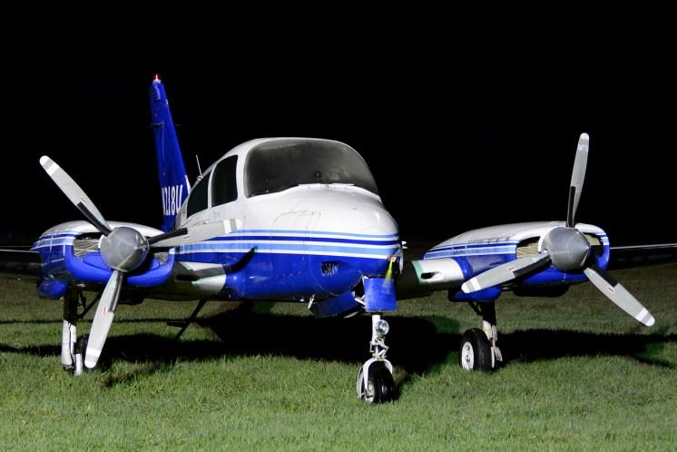 © Mark Empson - Cessna 310Q N218U - Bourne Park Nightshoot