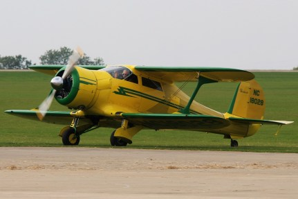 © Jamie Ewan - Beechcraft D17S Staggerwing NC18028 - Sywell Radial