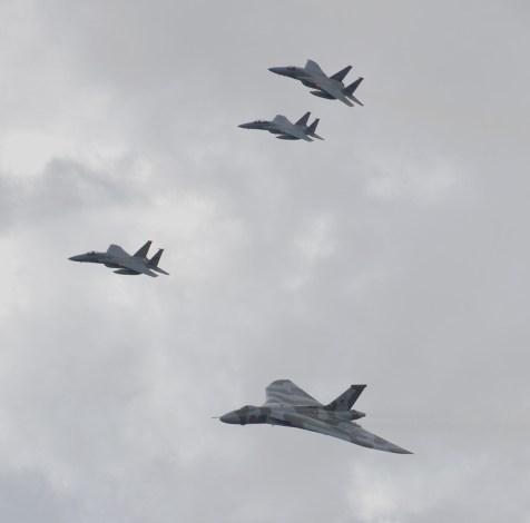 © Rod Martell - RAF Lakenheath 27 August 2015 - Vulcan XH558 Image Wall
