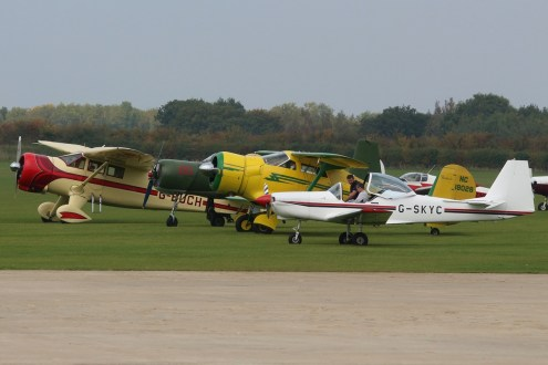 © Jamie Ewan - Sywell Line-up - Sywell Radial