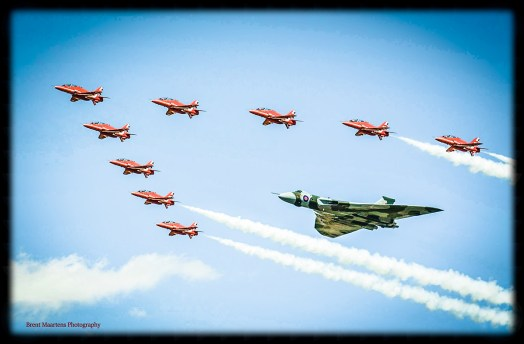 © Brent Maartens - RIAT 2015 taken on the Sunday - Vulcan XH558 Image Wall