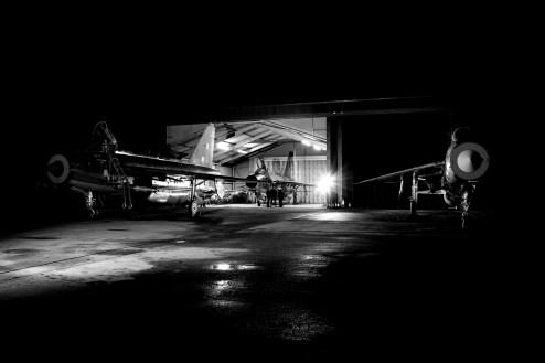 © Jamie Ewan - English Electric Lightning F.3 XR713, F.6 XR728 and F.6 XS904 - Lightning Preservation Group Twilight Run
