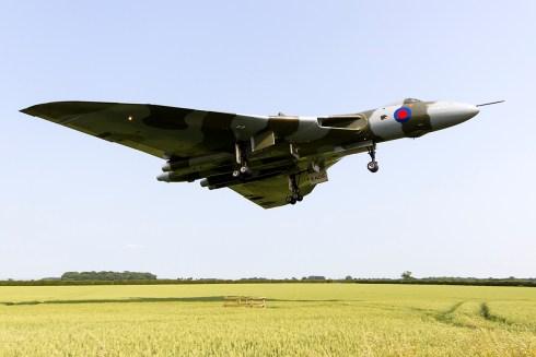 © Adam Duffield - Waddington Airshow 2013 - Vulcan XH558 Image Wall