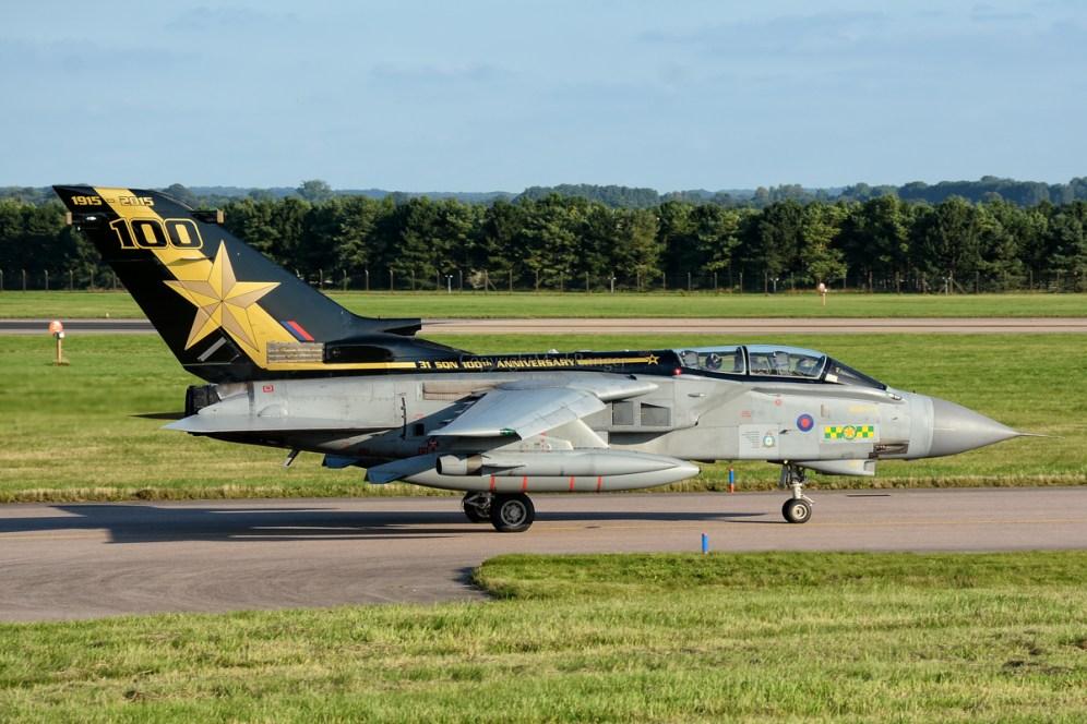 © Mark Ranger - 31 Squadron Tornado GR4 ZA458 - AeroResource 2015 Highlights