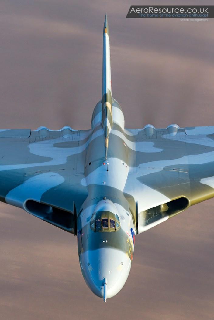 Vulcan XH558 Air to Air 3