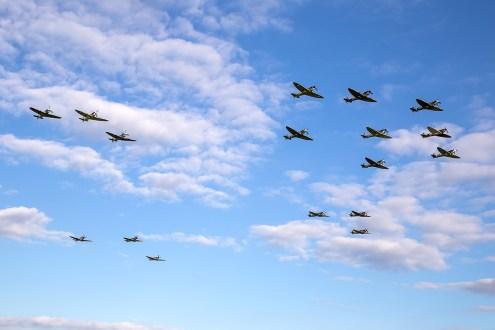 © Adam Duffield - Duxford Spitfire Finale - AeroResource 2015 Highlights
