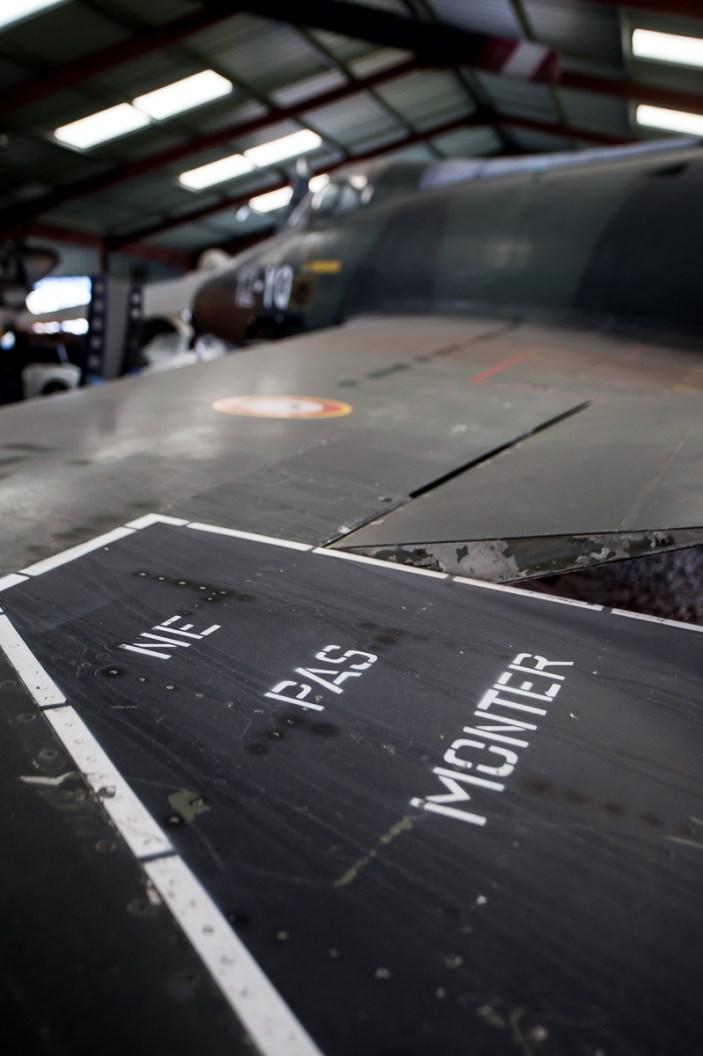 © Adam Duffield - Dassault Super Mystere B2 113/12-YQ - L'Epopee de l'Industrie et de l'Aeronautique