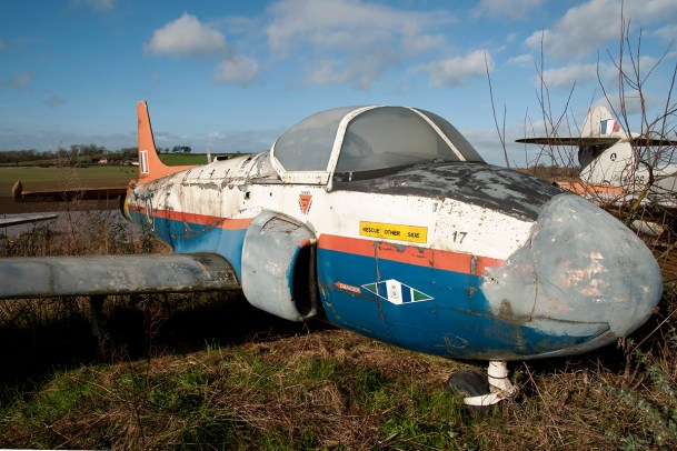 ©Duncan Monk - Hunting Jet Provost T3 XN632 - Birlingham Jet Aircraft Collection