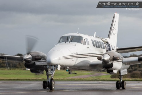 © Harry Measures - Beech 99 Cameraship - Air to Air Photography