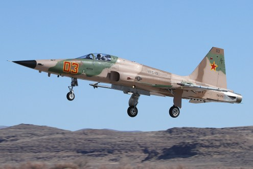 © Mark Forest - Northrop F-5N Tiger II 761578 - NAS Fallon