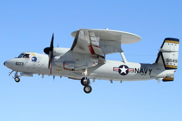 © Mark Forest - Northrop Grumman E-2 Hawkeye 165649 - NAS Fallon
