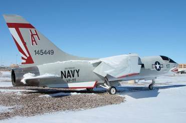 © Mark Forest - Vought F-8L Crusader 145449 - NAS Fallon