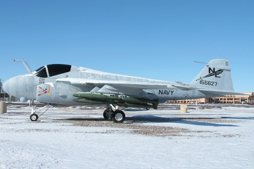 © Mark Forest - Grumman A-6E Intruder 155627 - NAS Fallon
