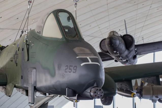 © Adam Duffield - Fairchild A-10A Thunderbolt II 77-0259 - American Air Museum Reopening