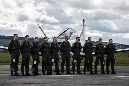 © Paul Harvey - IAC PC-9 Pilots - Irish Air Corps Easter Rising Centenary
