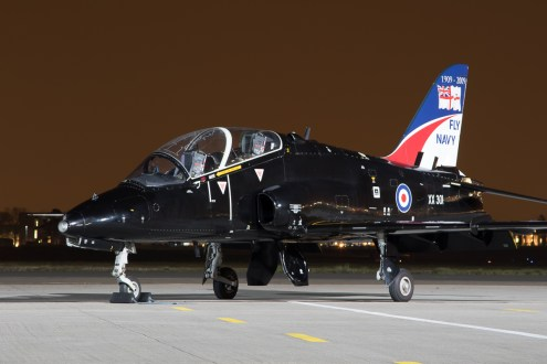 © Adam Duffield - Hawk T1A XX301 - Northolt Nightshoot XX
