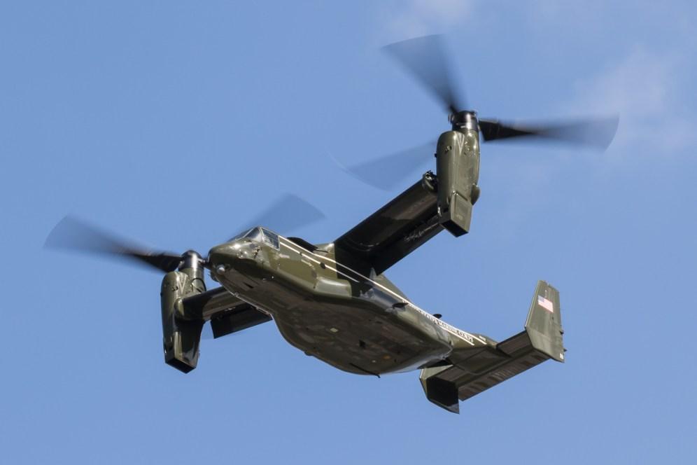 © Adam Duffield - Bell-Boeing MV-22B Osprey 168332 – HMX-1 Presidential Helicopters at RAF Mildenhall