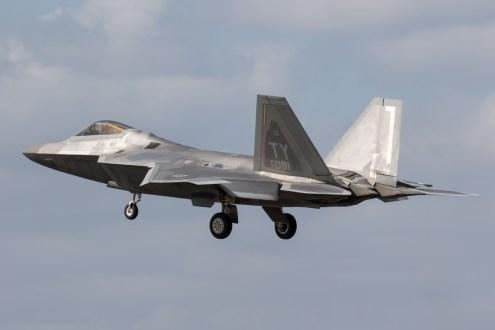 © Adam Duffield - Lockheed F-22A Raptor 05-4081 - F-22 Raptor Deployment to RAF Lakenheath