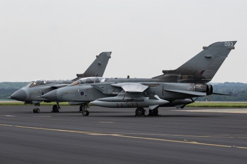 © Adam Duffield - Panavia Tornado GR4 ZA542 and ZD745 - RAF Marham Enthusiasts Event