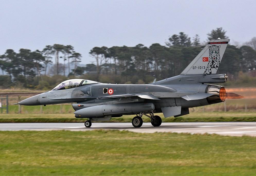 © Niall Paterson - Turkish Aerospace Industries F-16C 07-1013 - Joint Warrior 16-1