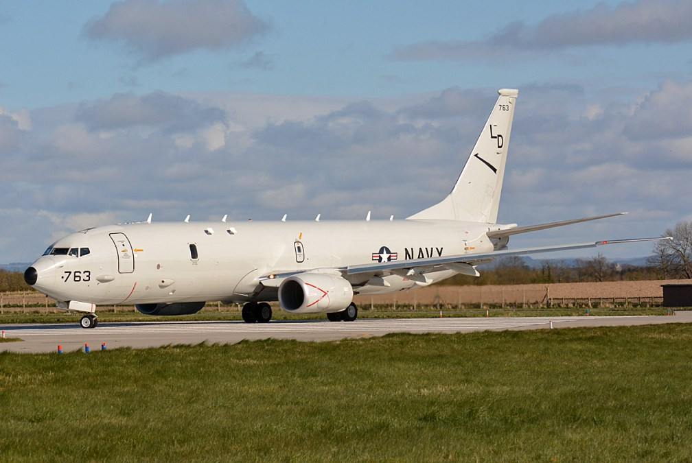 © Niall Paterson -USN Boeing P-8A Poseidon - Joint Warrior 16-1