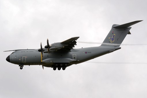 © Niall Paterson - RAF Airbus A400M - Joint Warrior 16-1